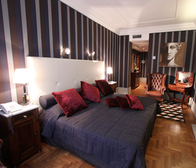 small luxury hotel in rome