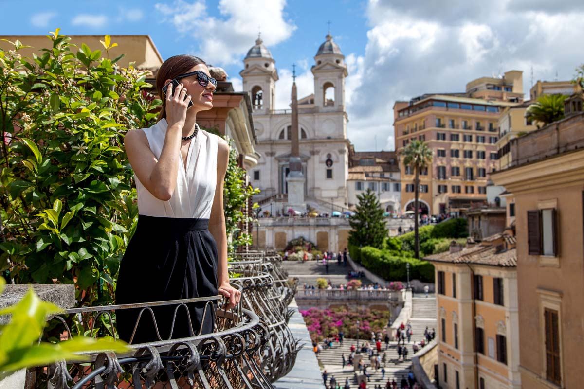 The View At The Spanish Step Luxury View In Rome Official