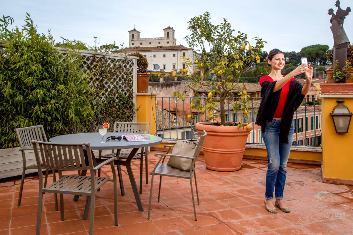 The Inn At The Spanish Step Find Hotel In Rome Panoramic Honeymoon